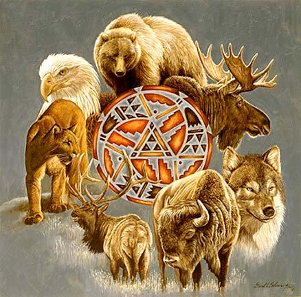 Animal spirit circle sm