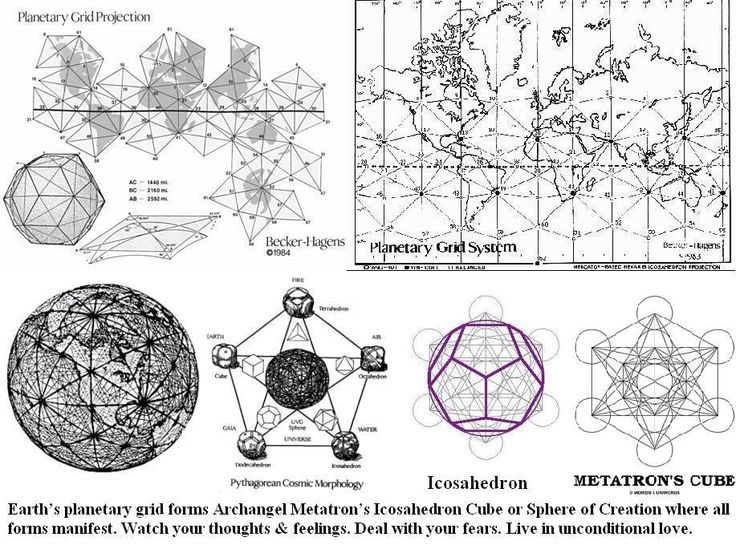 Cube de metatron 3